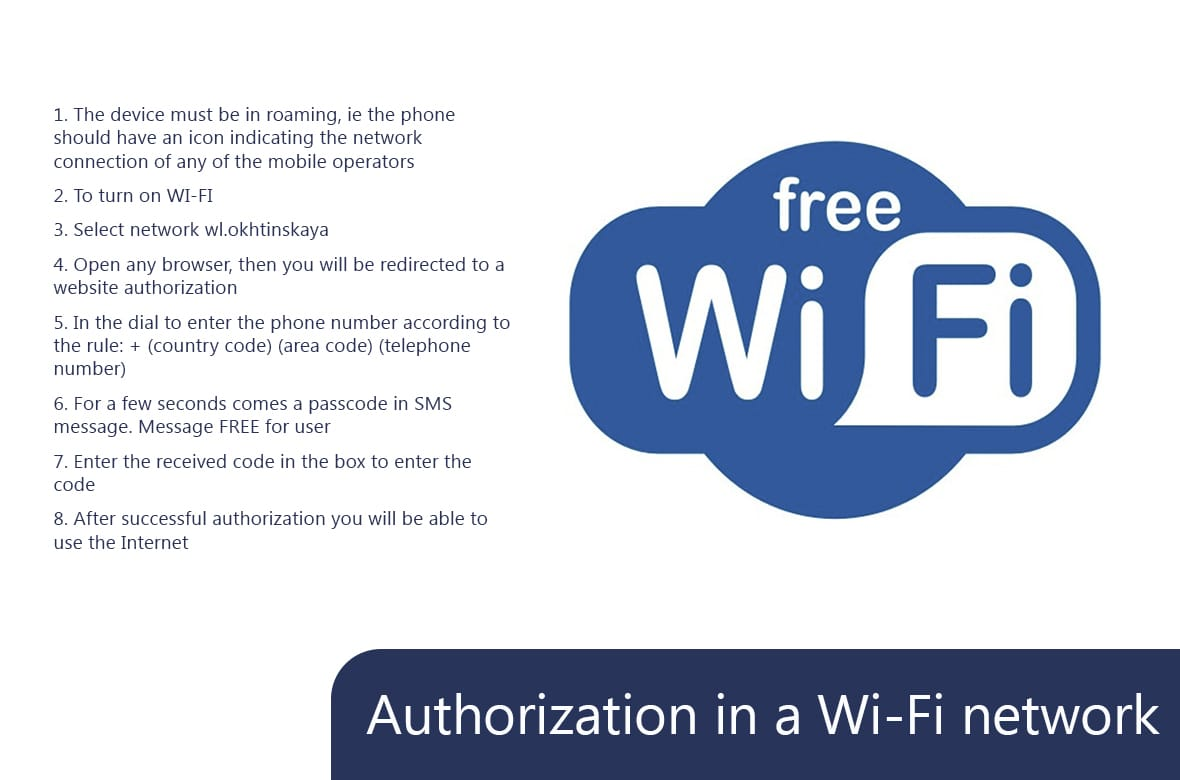Terms of use free Wi-Fi