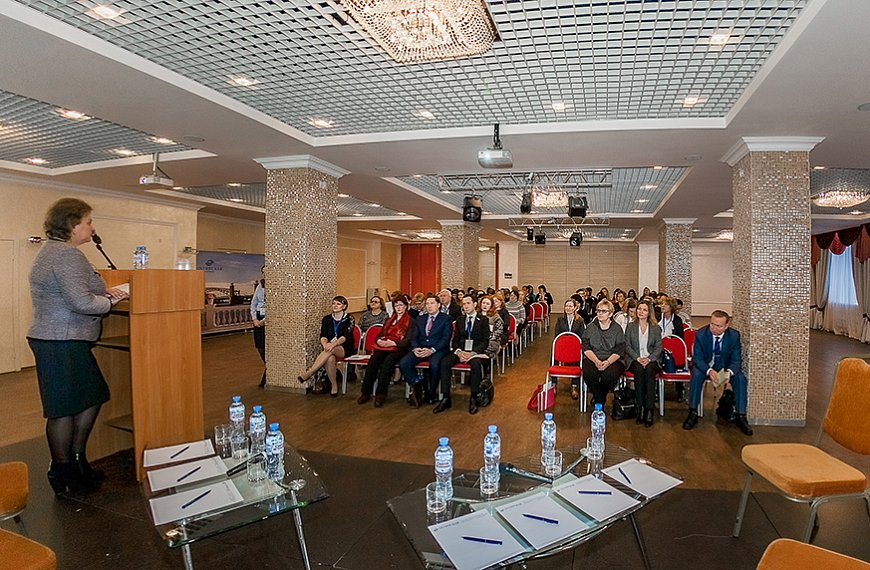 Hotel Okhtinskaya - 4 halls for business events from 10 to 350 people